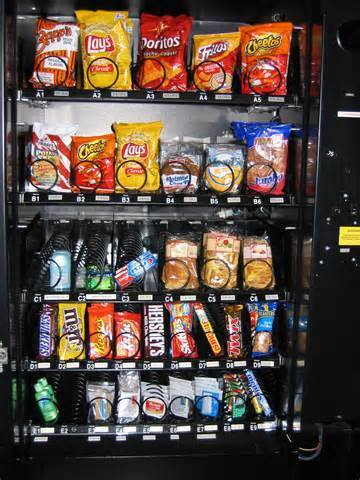 """The vending machine principal"""